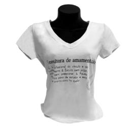 Camisa Consultora em Amamentação